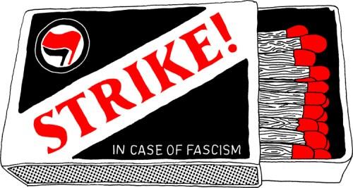 "Karl LaRocca - ""Strike! In Case of Fascism"""