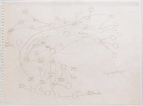 Trafalgar House #1 - Graphite on paper