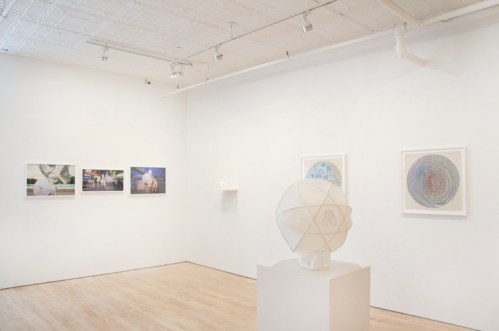 "no title - Installation view: Ati Maier, ""The Placeless Place"""