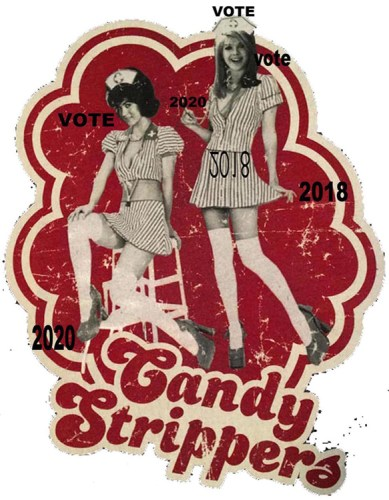 """Norma Markley - """"Candy Strippers: Vote"""""""
