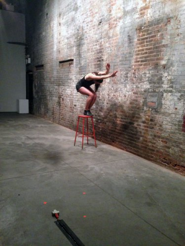 Heather McCalden - Beyond (Becoming) performance at The Boiler