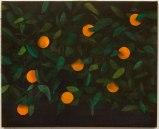 Ryan Mrozowski - Orange Painting 3, 2013, oil on linen, 40 x 50 inches