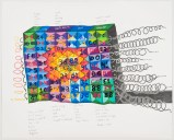 "John O'Connor - ""British Code,"" 2012, Graphite and colored pencil on paper. 30 x 36.5 inches. Sold"
