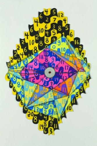 Twenty Seven - 2012, Colored pencil and graphite on paper, 42 x 28 inches