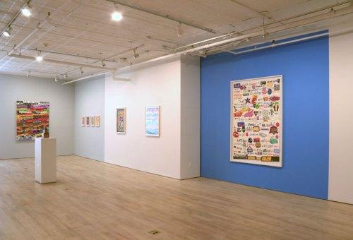 John O'Connor - Installation view, 2016