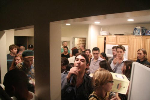 The House Party - Installation view. October 5, 2012