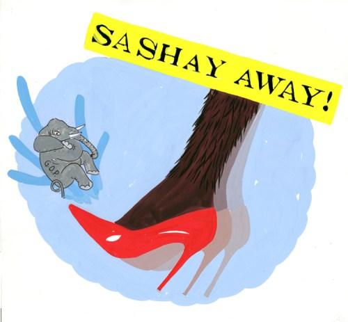 """Peter Krashes - """"Sashay Away"""""""