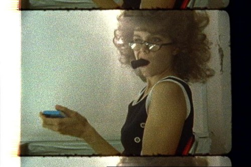 """Shannon Plumb (Pierogi) - """"Paper Collection (Video Still),"""" 2007, Super 8 transfered to digital Video, Duration: 19:30 minutes, Edition 2 of 5"""
