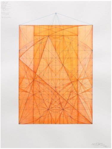 """Mark Reynolds - """"Marriage of Incommensurables  Series Serlio and KCW Triangles Triple Root Five 6.21"""