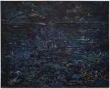 """David Scher - """"Mars,"""" 2013, Oil on linen, 51.25 x 63.75 inches"""