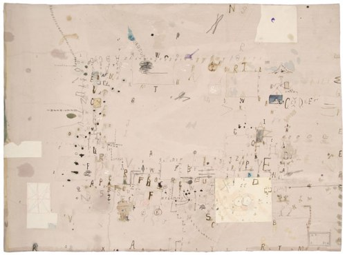 Bagnolo Series W7 - 2011, Ink, pencil and collage on paper, 22 x 30 inches