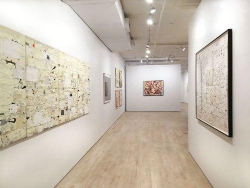 David Scher - Installation view, October 2017, Pierogi