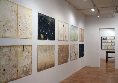 no title - Installation view: Suspended Interruption at Pierogi, October 2014