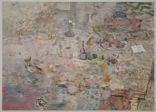David Scher - Untitled, 2010, Oil on linen, 60 x 84 inches