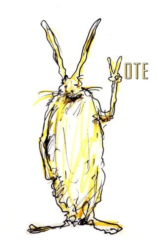 David Scher - Bunny Peace