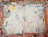 "David Scher - ""Fissuere + Enorme,"" 2015-17, Mixed media on paper"