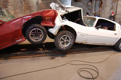 The Slow Inevitable Death of American Muscle - Installation View at The Boiler