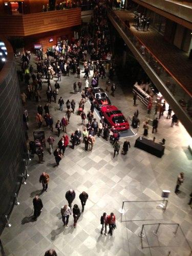 Jonathan Schipper installation at the Kimmel Center