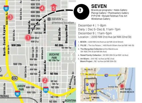 Seven Miami Invite and Map 2012 - no description