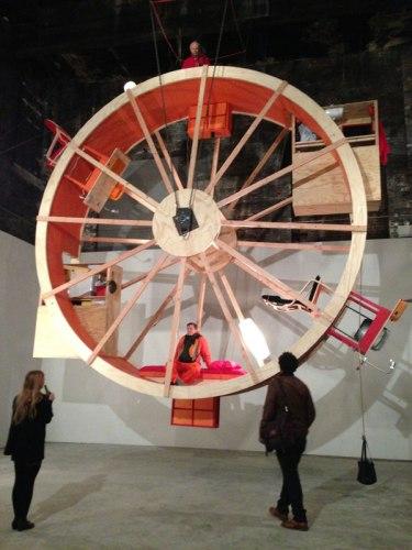 "Ward Shelley and Alex Schweder - ""In Orbit,"" Installation view at The Boiler"