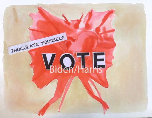 Judith Simonian - Inoculate Yourself: Vote