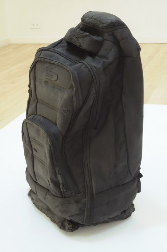 Bag Packed - 2007-08, Cast in Graphite, Ed. 2 of 3