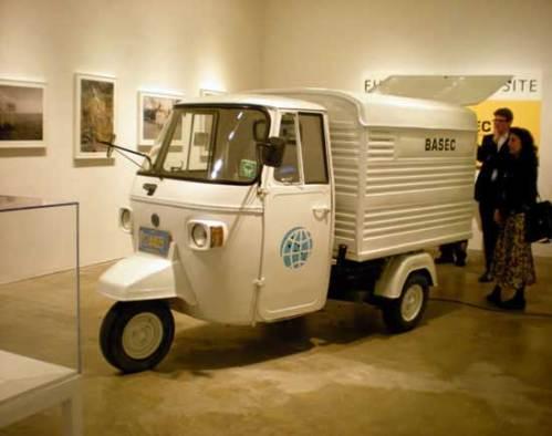 Basec Truck 11 - 2009, Mixed Media