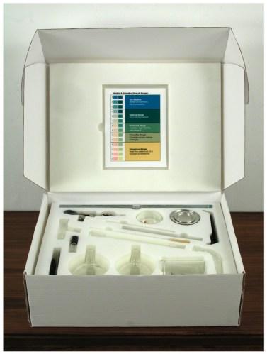 Survival Kit - 2006, Glass, paper, foam, metal, Ed. of 36