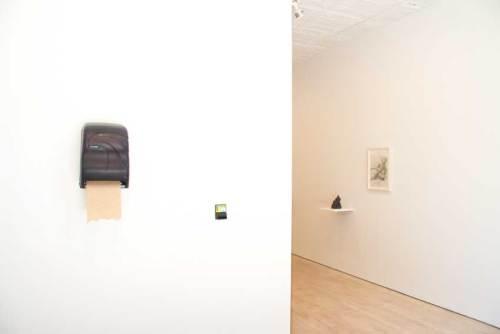 Les Fleurs du Mal - Installation view, 2018. Left: Andrew Ohanesian Right: Darina Karpov