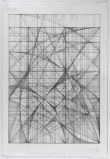 """Mark Reynolds - """"The 1.111 Series Ode to John Cage, 2.13,"""" Feb. 2013, Graphite on cotton paper, 22 x 15 inches"""