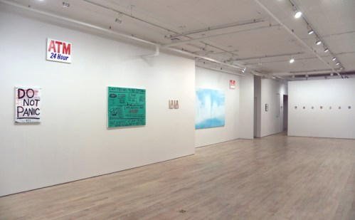 "Jim Torok - ""The New Age Of Uncertainty,"" Installation View, January 2017"