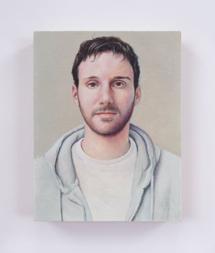"Jim Torok - ""Justin,"" 2016, Oil on panel, 5 x 3.75 inches"