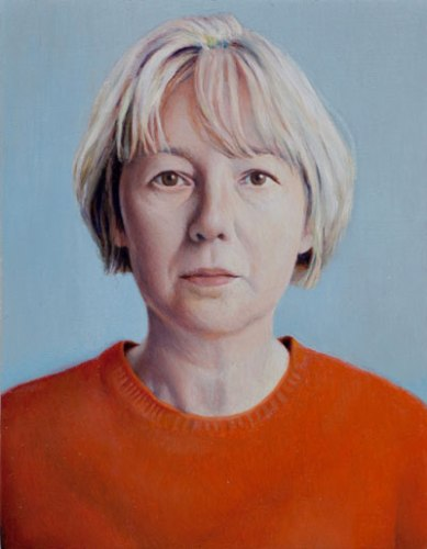 Laura - 2010, Oil on panel, 5 x 3 7/8 inches