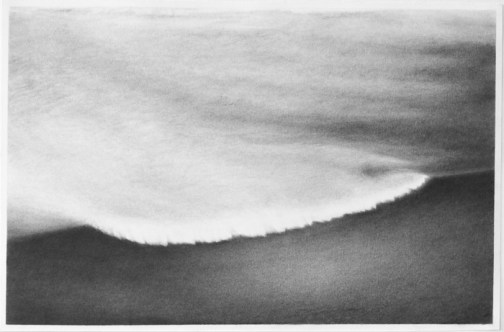 """""""Under Water,"""" 2013, Graphite on paper, 12.5 x 19 inches"""