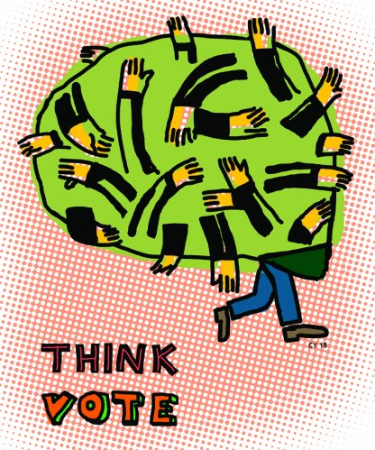 """Charles Yuen - """"Think Vote"""""""