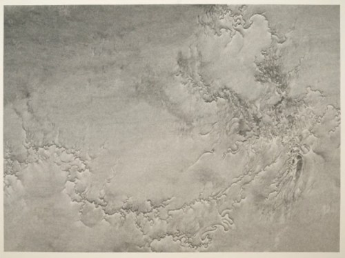 Systemic Infraction - 2010, Graphite on paper mounted on board, 45 x 60 inches