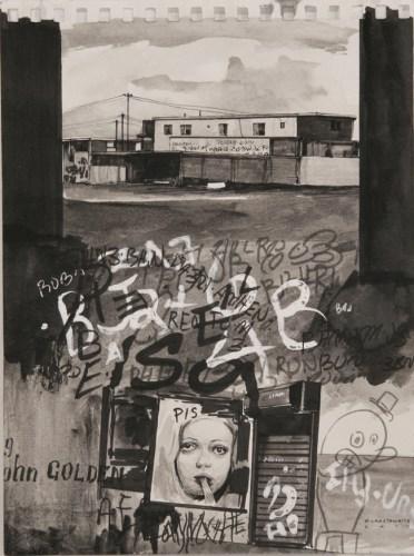 Hugo Crosthwaite - 2011, Graphite on paper, 8 x 6 inches