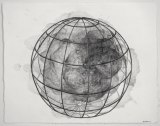 Spherical Cage Series, 1 - 2011, Graphite on paper, 11 1/4 x 14 1/4 inches