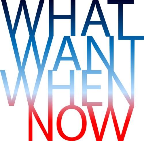 """Adriane Colburn and Selene Colburn - """"what want when now"""""""