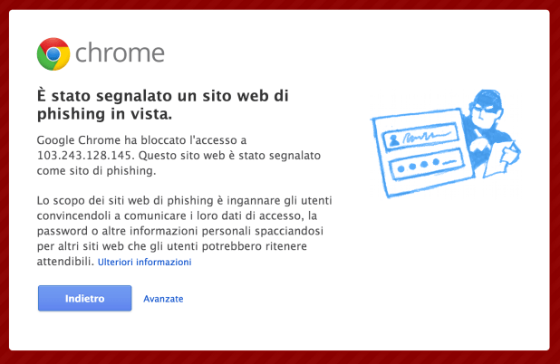 chrome phishing tim 119