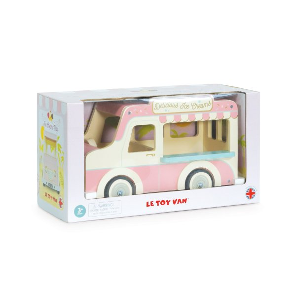 ME083-Ice-Cream-Van-Pink-Doll-House-Wooden-Toy-Gift-Box