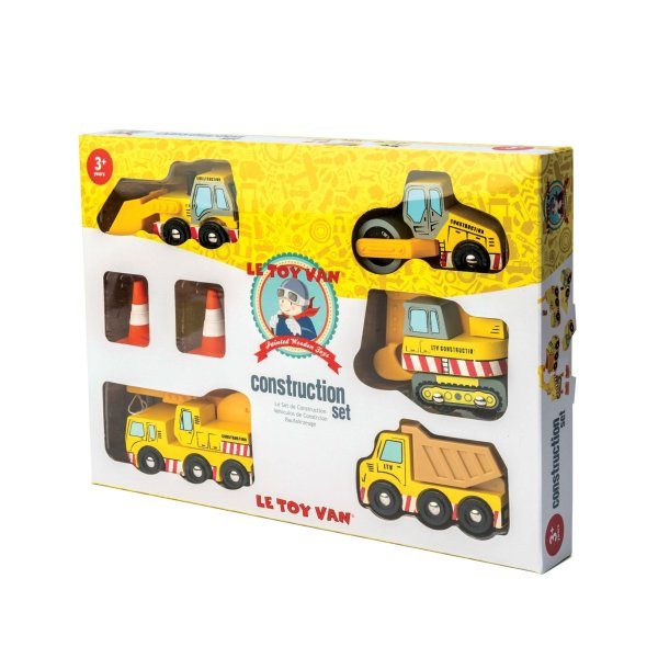 TV442-Construction-Wooden-Cars-Yellow-Digger-Lorry-Crane-Packaging