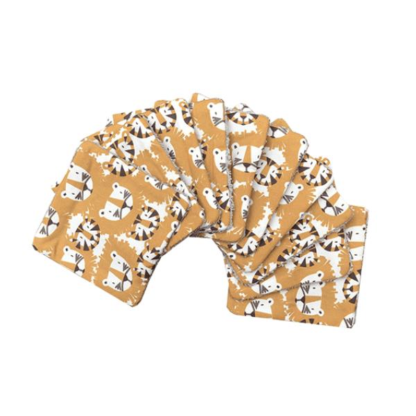 lingettes-lavables-tigres-lions-zero-dechet-motif-exclusif-carotteetcie