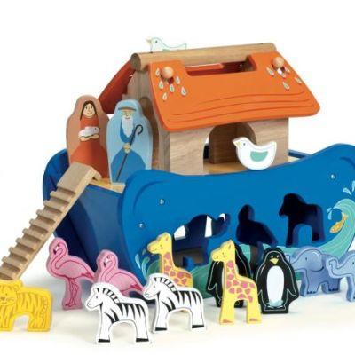 httpswww.kinderenkoning.bemediacatalogproducttvtv212-5060023412124-le-toy-van-noa_s-ark-houten-speelset-1