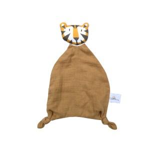 doudou-plat-tigre-tete-camel-caramel-detail-coton-bio-gots-oeko-tex-cadeau-naissance-bebe-carotteetcie