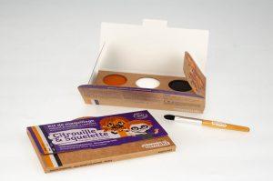 kit-de-maquillage-bio-Namaki-3-couleurs-Citrouille-et-Squelette-contenu-300x199