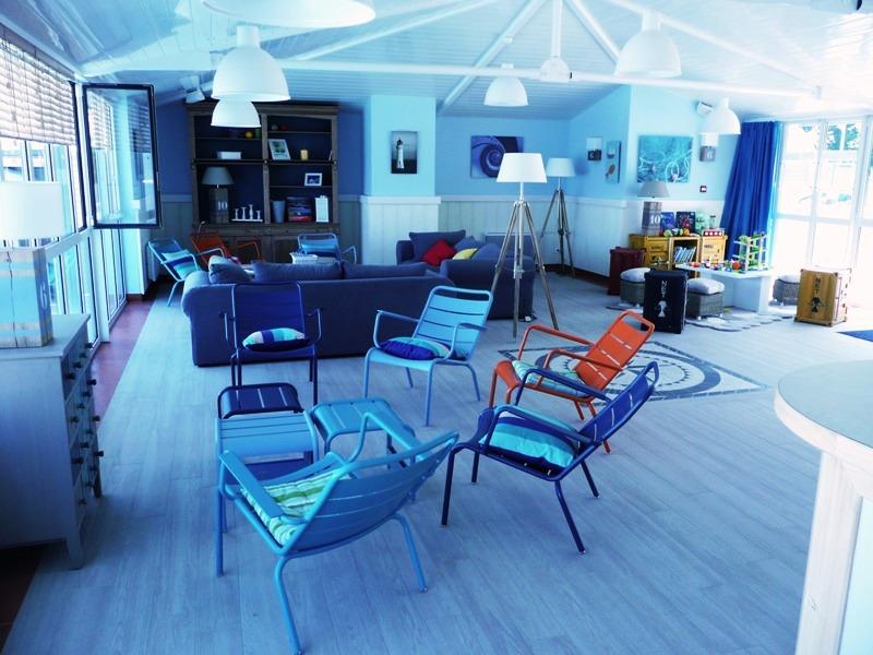 salon de la Résidence de luxe Pierre et Vacances