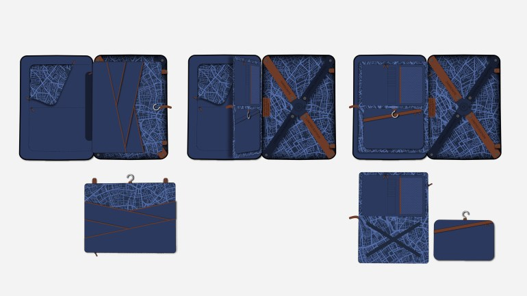 4K Gallery Samsonite Interior Layout