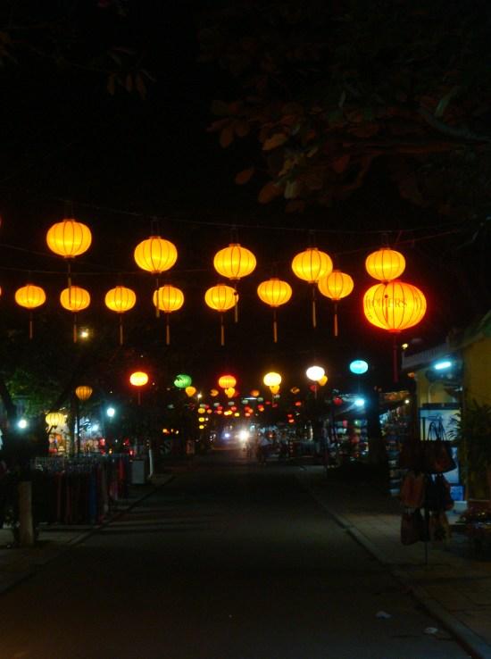 Lampions de nuit - Hoi An