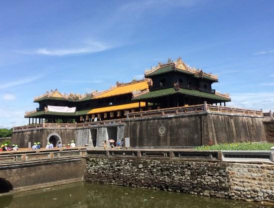 Entrée de la Citadelle - Hué - Vietnam